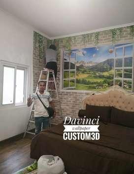 Wallpaper Custom3D , terbaik & garansi 2 tahun