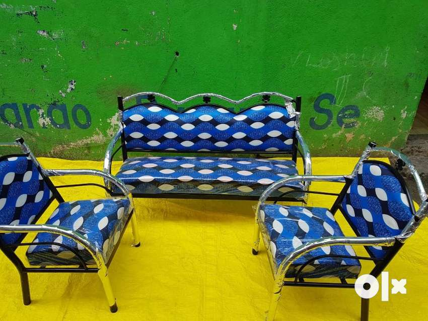 sofa set steel for sale 0