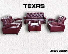 Mountain furniture,Sofa 3,2,1 TEXAS free meja tamu