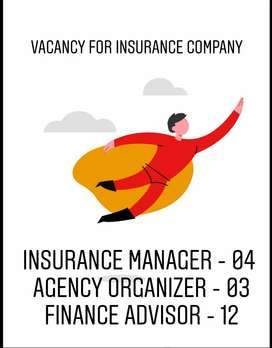 Insurance company immediate vacancy at Palarivattom