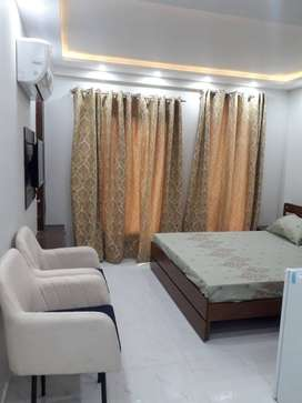 Brand New Studio Furnished Front Apartment for Rent in Bahria Town