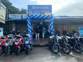 Upto 20% off on all Second hand Bikes & Scooters till sept 5th 2021