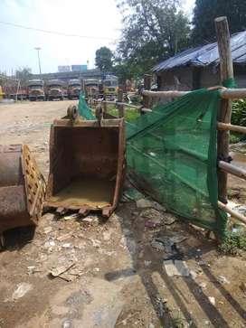 Rock Bucket  Excavator.