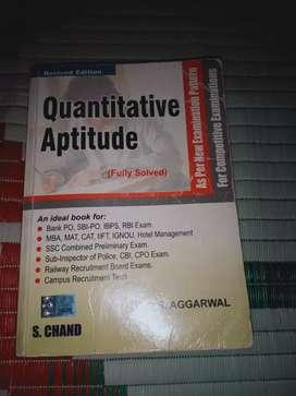 Quantitative Aptitude by R S Agrawal