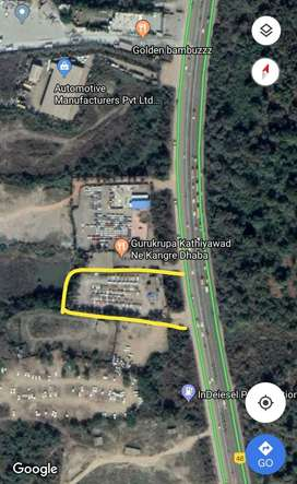 Open Plot Near NH - 8 Highway Touch