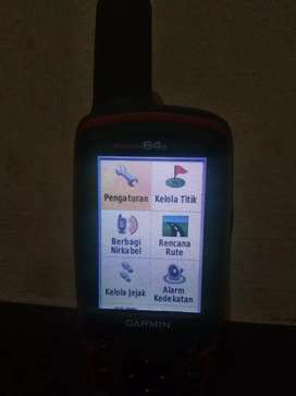 Jual cepat GPS Garmin 64s second
