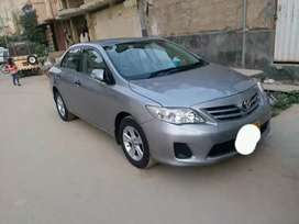 Toyata corolla 2013 model 8% pe ab car ly