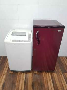 Lg 190 ltrs single door & ifb 6kg topload rodj8272owjwo with shipping