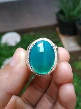 Cincin Batu Bacan Doko Crystal
