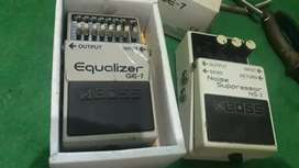 Boss equalizer and noise suppresor