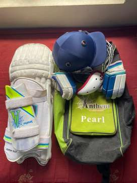 Cricket kit SG and SS left hand kit