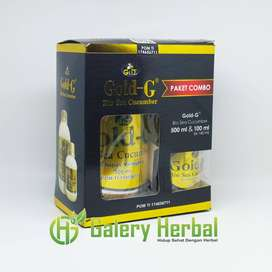 Jelly Gamat Gold G Paket Combo 500ml + 100ml