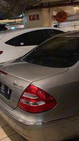 WTS Mercedes-Benz E280 (2005) BEIGE COLOR LIMITED EDTN HANYA 6 DI INDO