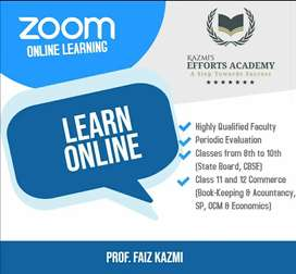 Online/Offline Lectures for Commerce faculty