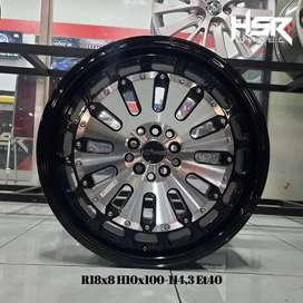 Velg Racing Mobil Daihatsu Terios Ring 18 Lebar 8 HSR MYTH08