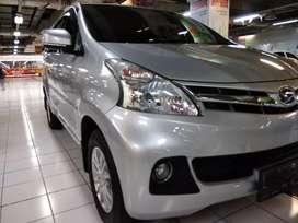 KM Rendah Mobil Keluarga Xenia 1.3 R Deluxe Manual 2014 Silver