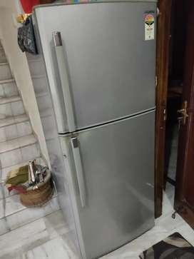 Samsung double door fridge 385 ltrs