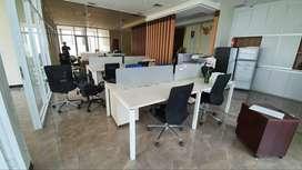 Dijual Office Space Gold Coast PIK uk 138m2 Full Furnished Elegant
