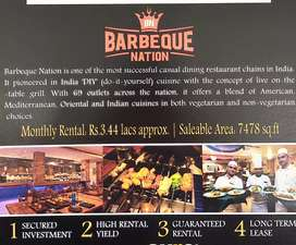 Pre leased KFC, Barbeque nation, D cafe available for sale n jalandhar