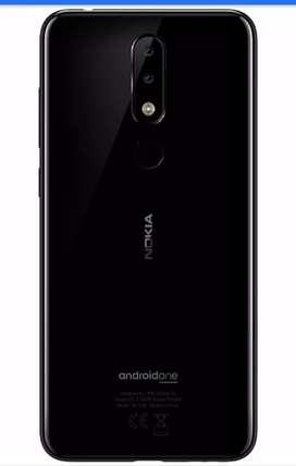 Nokia 5.1 plus 3gb 32gb black new