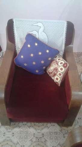 1 person sitting sofa