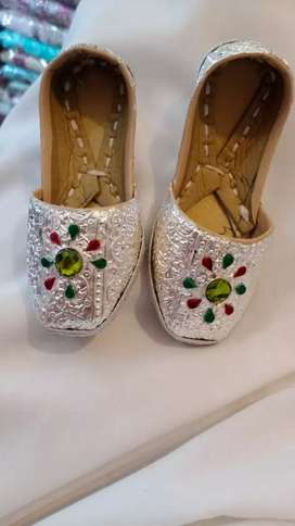 White Gold shoes for Baby
