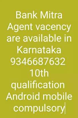Bank Mitra in Karnataka only