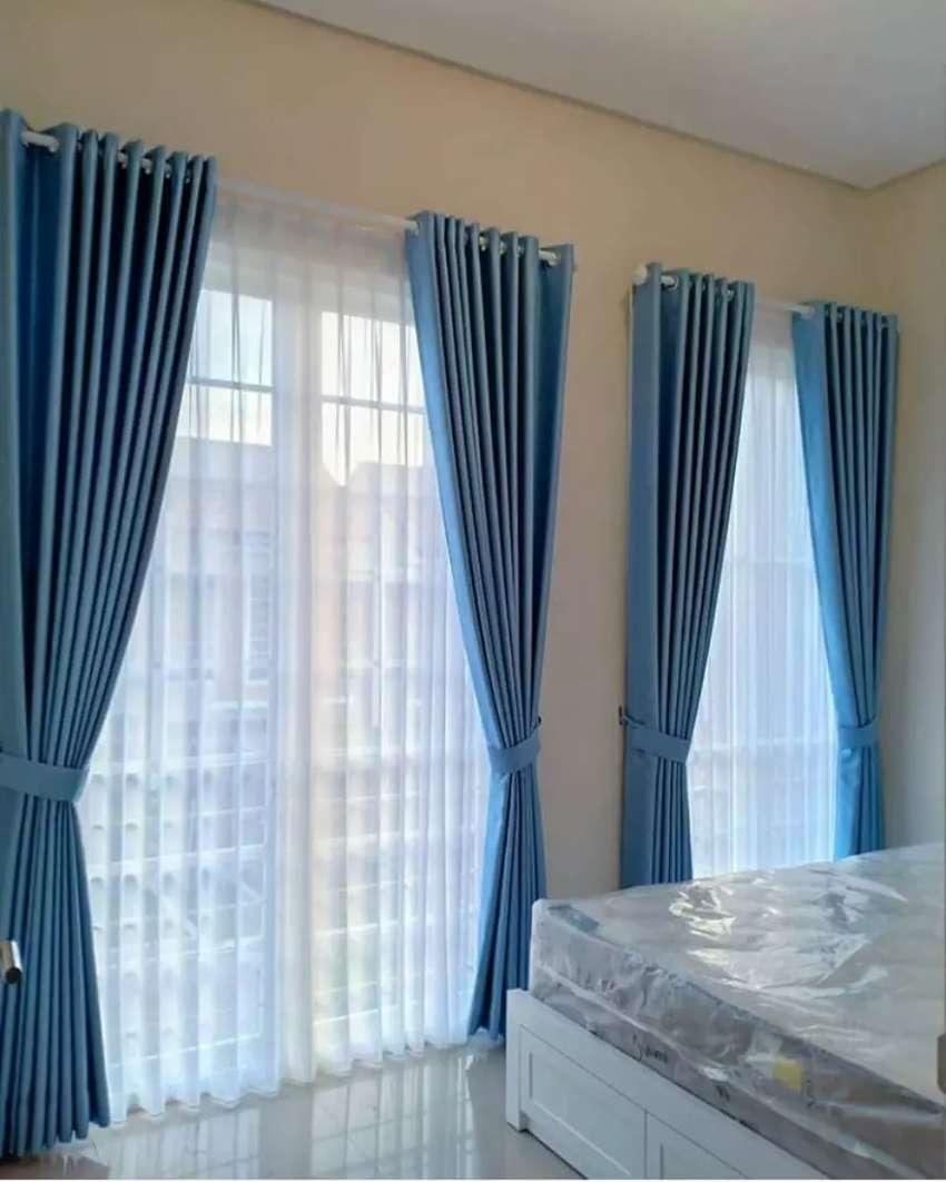 Korden Minimalis Vitrase Gordeng Hordeng Gorden Curtain Gordyn 744 0