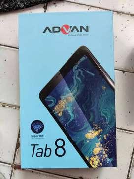 Advan tab 8 inchi ram 3gb 4G LTE