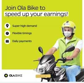 Ola bike rider need