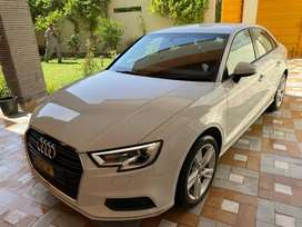 Audi A3. 2019 September registered  totally company maintained.