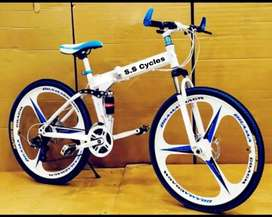 All new folding cycle available