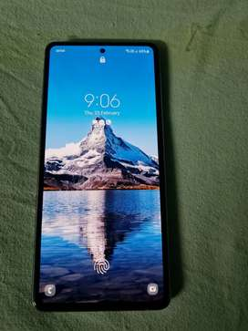 Samsung note 10 lite 8gb 128gb 11months used looks like new one