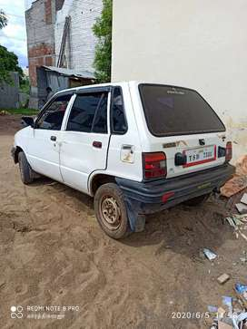 Maruti 800 with fc current