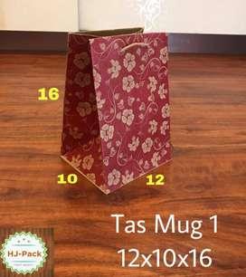 paperbag motif paper bag merah tas kertas tebal