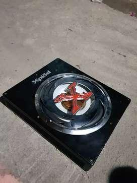 Subwoofer Sony xpload 10inc lengkap