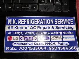 M. K Cooling system ALL KIND AC REPAIR AND SERVICING