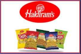 Foods And Snacks Company Haldiram Started Hiring in Sales And Office