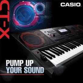 Casio CT-X9000IN 61-Key Portable Keyboard with + Heavy Duty Stand