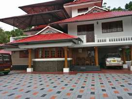 Luxurious Bungalow (2 acre land) for sale at elanji ernakulam