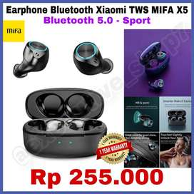 Earphone Bluetooth Xiaomi TWS MIFA X5