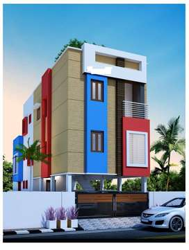 Apartment sale in pozhichalur in low budget 2bhk