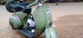 Vespa 150 cc vintage vehicle