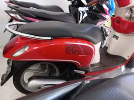 HONDA SCOOPY 2014 MERAH CREAM DI DJAYA MOTOR ANTASARI.