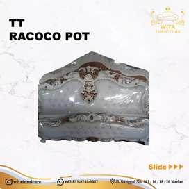 Tempat tidur racoco pot free ongkir medan