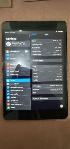 iPad Mini 4 Wifi Only 128 Gb Ex Garansi Mulus