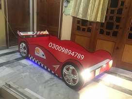 Car shape bed for kids 6 feet by 3 feet