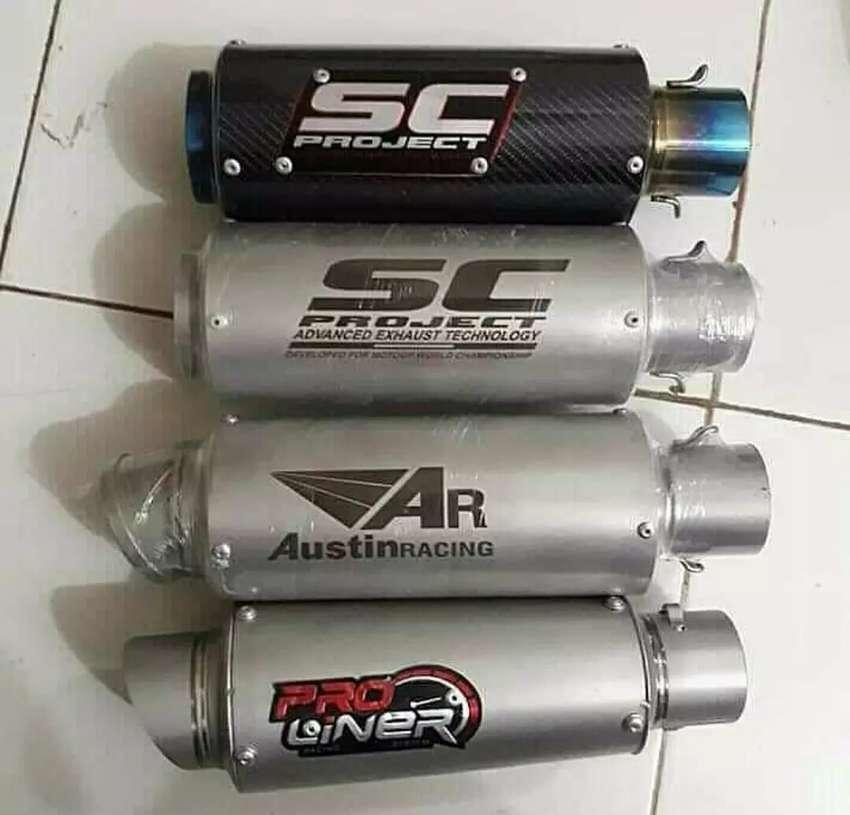 Knalpot Ninja 250, Z250, CBR 250rr, cbr 150.cb150.gsx.vixio.r15.r25 0