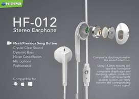Headset hippo HF 012 handsfree original resmi