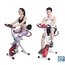 Alat Fitnes Speda Statis X bike Sandaran